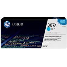 HP CE741A 307A Cyan LaserJet Toner Cartridge
